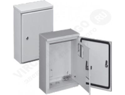 Щит ЩУ 1.1 (2 двери) (IP-54) б/окна на опору (300х150х325) (ВАС)