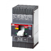 ABB Tmax Автоматический выключатель T1C 160 F Fc Cu TMD In=25 I3=500 3P 25kA (1SDA050894R1)