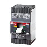 ABB Tmax Автоматический выключатель T1C 160 F FC Cu TMD In=63 I3=630 4P N=100% 25kA (1SDA050909R1)