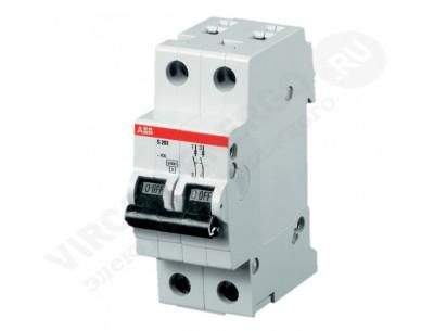 Автоматический выключатель ABB SH 202L С16
