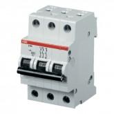 Автоматический выключатель ABB SH 203 L С40, , 671.25 р., М01206, ABB, Выключатели и рубильники
