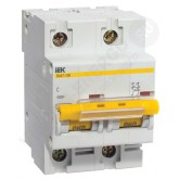 Автоматический выключатель ВА 47-100 2х80А (IEK), , 908.00 р., М01349, ИЭК, Модульные автоматы