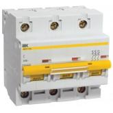 Автоматический выключатель ВА 47-100 3х50А (IEK), , 1 362.00 р., М01362, ИЭК, Модульные автоматы