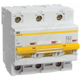 Автоматический выключатель ВА 47-100 3х63А (IEK), , 1 302.00 р., М01363, ИЭК, Модульные автоматы
