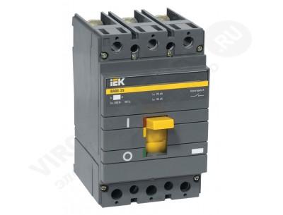 Автоматический выключатель ВА 88-33 3х125А 35кА (IEK)