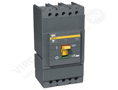 Автоматический выключатель ВА 88-37 3х400А 35кА с электронным расцепителем МР211 (IEK)