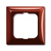 ABB BJB Basic 55 Фойе (красный) Рамка 1-ая (1725-0-1516), , 96.54 р., , ABB, Розетки и выключатели