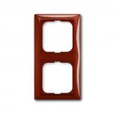 ABB BJB Basic 55 Фойе (красный) Рамка 2-ая (1725-0-1517), , 160.90 р., , ABB, Розетки и выключатели