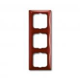 ABB BJB Basic 55 Фойе (красный) Рамка 3-ая (1725-0-1518), , 295.67 р., , ABB, Розетки и выключатели