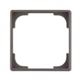 ABB BJB Basic 55 Вставка декоративная, серия Basic 55, цвет шато (чёрн) (1726-0-0232), , 70.38 р., , ABB, Розетки и выключатели