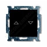 ABB BJB Basic 55 Шато (чёрн) Выключатель жалюзийный (1012-0-2176), , 1 426.02 р., , ABB, Розетки и выключатели