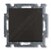 ABB BJB Basic 55 Шато (чёрн) Выключатель перекрёстный 1-клавишный (1012-0-2182), , 935.27 р., , ABB, Розетки и выключатели