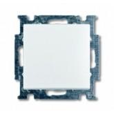 ABB BJB Basic 55 Шале (бел) Выключатель 1-клавишный (1012-0-2184)