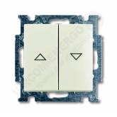 ABB BJB Basic 55 Шале (бел) Выключатель жалюзийный (1012-0-2186)