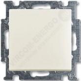 ABB BJB Basic 55 Шале (бел) Выключатель перекрёстный 1-клавишный (1012-0-2192), , 935.27 р., , ABB, Розетки и выключатели