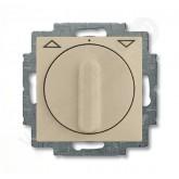 ABB BJB Basic 55 Шамп Выключатель жалюзийный поворотный без фиксации (1101-0-0927), , 3 027.03 р., , ABB, Розетки и выключатели