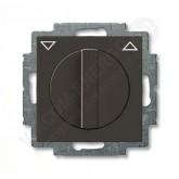 ABB BJB Basic 55 Шато (чёрн) Выключатель жалюзийный поворотный без фиксации (1101-0-0929), , 2 636.84 р., , ABB, Розетки и выключатели