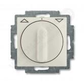 ABB BJB Basic 55 Шале (бел) Выключатель жалюзийный поворотный без фиксации (1101-0-0931), , 2 636.84 р., , ABB, Розетки и выключатели