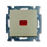 ABB BJB Basic 55 Шамп Выключатель кнопочный с полем для надписи (1413-0-1093), , 1 367.69 р., , ABB, Розетки и выключатели