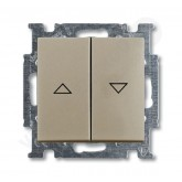 ABB BJB Basic 55 Шамп Выключатель жалюзийный (1012-0-2166), , 1 820.24 р., , ABB, Розетки и выключатели