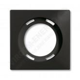 ABB BJB Basic 55 Шато (чёрн) Накладка для световых приборов (1753-0-0205), , 366.07 р., , ABB, Розетки и выключатели