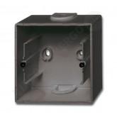 ABB BJB Basic 55 Шато (чёрн) Коробка для открытого монтажа, 1-постовая (1799-0-0965), , 474.67 р., , ABB, Розетки и выключатели