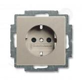 ABB BJB Basic 55 Шамп Розетка с/з с защитными шторками (2013-0-5337), , 575.40 р., , ABB, Розетки и выключатели