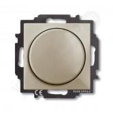 ABB BJB Basic 55 Шамп Светорегулятор поворотно-нажимной 60-400 Вт для л/н (6515-0-0845)