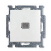 ABB BJB Basic 55 Беж Выключатель 1-клавишный с подсветкой (1012-0-2156), , 454.55 р., , ABB, Розетки и выключатели