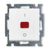 ABB BJB Basic 55 Бел Выключатель 1-клавишный 2-полюсный, 20A (1020-0-0089)