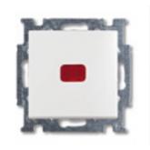 ABB BJB Basic 55 Бел Переключатель 1-клавишный с подсветкой и N-клеммой (1012-0-2143), , 530.99 р., , ABB, Розетки и выключатели