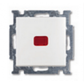 ABB BJB Basic 55 Беж Переключатель 1-клавишный с подсветкой и N-клеммой (1012-0-2150)