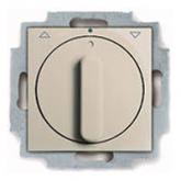 ABB BJB Basic 55 Беж Выключатель жалюзийный поворотный без фиксации (1101-0-0923)