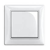 ABB BJB Basic 55 Беж Выключатель кнопочный 1-клавишный, НО контакт (1413-0-1083)