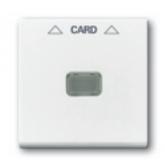 ABB BJB Basic 55 Бел Накладка карточного выключателя(мех. 2025U) (1710-0-3864)