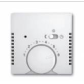 ABB BJB Basic 55 Бел Накладка для терморегулятора (мех. 1095 U, 1095 UF-507, 1096 U) (1710-0-3867), , 330.32 р., , ABB, Розетки и выключатели