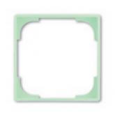 ABB BJB Basic 55 Серебристый металлик Вставка декоративная в рамку (1726-0-0223)