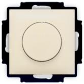 ABB BJB Basic 55 Беж Светорегулятор поворотно-нажимной 60-400 Вт для л/н (6515-0-0843), , 2 230.55 р., , ABB, Розетки и выключатели