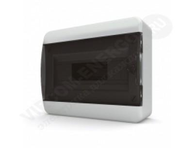 Щит распр. навесной BNK40-12-1 (12мод.IP40.черная дверь, шины PEи N, DIN-рейка)