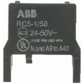 ABB RV 5/250 Ограничитель перенапряжения для А9-А110 (1SBN050010R1002), , -1.00 р., , ABB, Контакторы