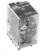 ABB CR-M024DC3 Промежуточное реле 24V 10A 3ПК (DC) (1SVR405612R1000), , 418.83 р., , ABB, Контакторы