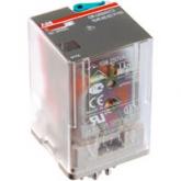 ABB CR-U024DC3L Промежуточное реле 24V 10A 3ПК (DC) (1SVR405622R1100), , -1.00 р., , ABB, Контакторы