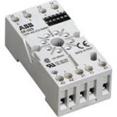ABB CR-U2S Цоколь для реле CR-U 2ПК с доп.модулем (1SVR405670R0000), , -1.00 р., , ABB, Контакторы