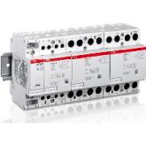 ABB ESB-24-13 Контактор модульный 24А AC1 катушка 12V AC/DC (GHE3291702R1004), , -1.00 р., , ABB, Контакторы