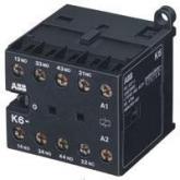 ABB KС6-40-E Миниконтактор 3A (400В AC3) катушка 220В DC (GJH1213001R0405), , -1.00 р., , ABB, Контакторы