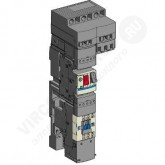 SE Telemecanique Плата для монтажа GV2 ME расцепителя и контактора (LAD311)