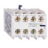SE Telemecanique Блок дополнительных контактов НО+3НЗ винтовой зажим (LA1KN13)