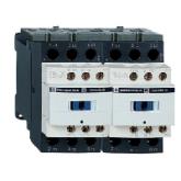 SE Telemecanique Контактор реверс. 25A, 3НО сил.конт. 1НО+1НЗ доп.конт. катушка 230V 50/60ГЦ (LC2D25, , 15 374.54 р., , Schneider, Контакторы