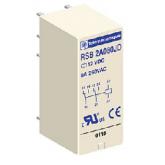 SE Реле интерфейсное, 2 перекидных контакта, 24В пер. ток (RSB2A080B7)