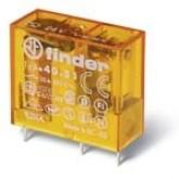 Finder Миниатюрные PCB-реле, выводы с шагом 3.5мм, Контакты AgNi, 1CO 10A, катушка DC (403190240000)